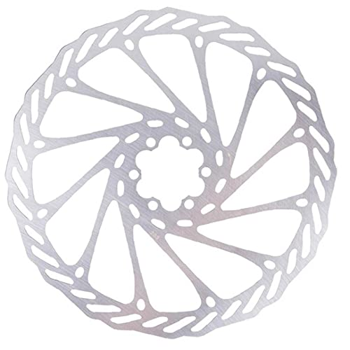 Bicycle Brake Disc Disc Rotors Centre Lock Rotors Stainless Steel 203mm with 6 Bolts for Road Bike Mountain Bike MTB BMX, Bicycle Accessories