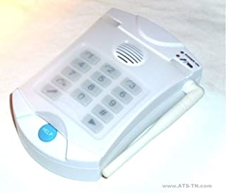 HELP Dialer 700 with Necklace and Wrist Panic Buttons - No Monthly Fees Medical Alert System
