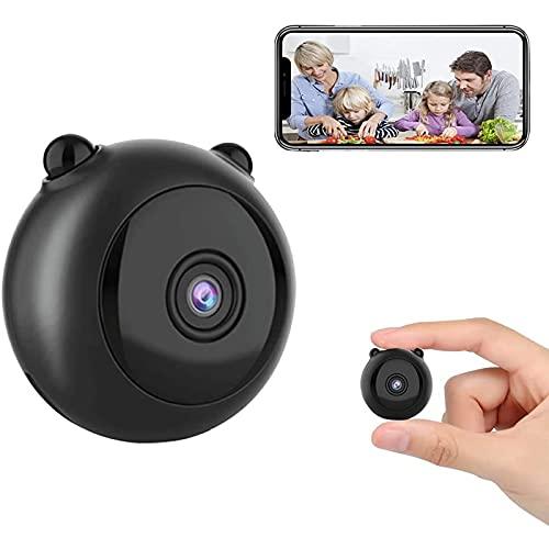 UYIDE Mini cámara 150 ° de Gran Angular 4K Detección dinámica Cámara Oculta Monitoreo Remoto para Uso en Exteriores.