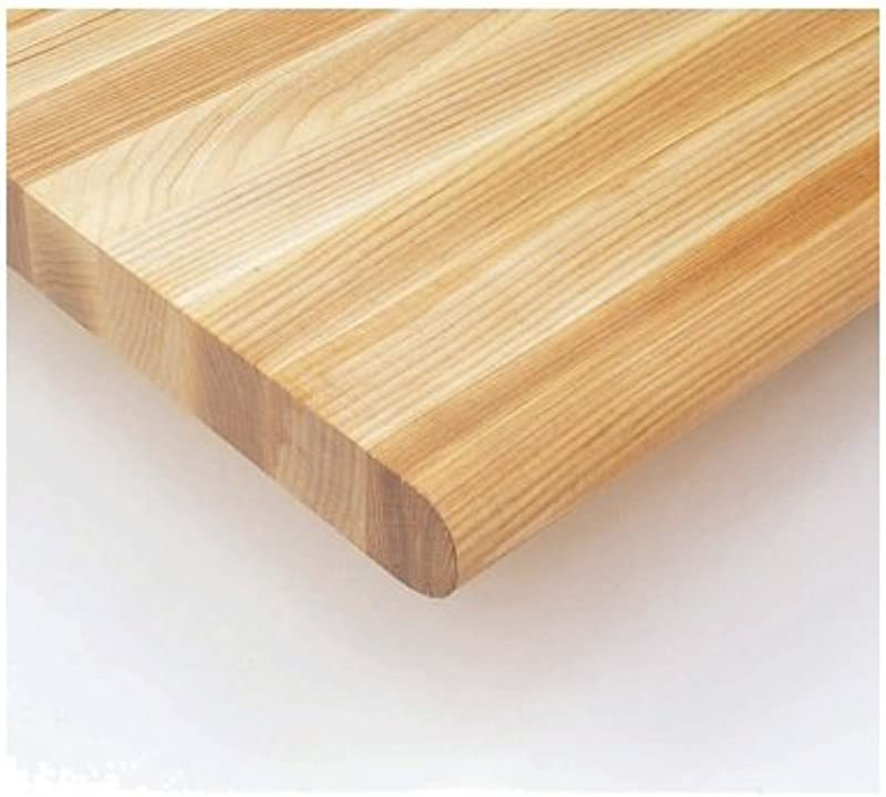 Nexel BT630A Ash Safety Edge Bench Tops 60 Length X 30 Width 1 3 4 Thickness Wood