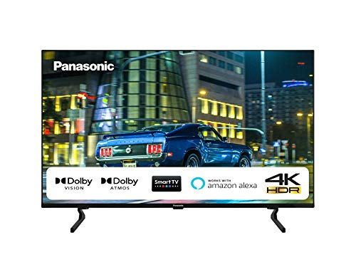 Panasonic 55HX600 Smart Tv 55  LED 4K Ultra HD, Dolby Atmos, 4K Studio Color Engine, Dolby Vision, Compatibilità Google Assistant & Amazon Alexa, Wi-Fi, Compatibilità Netflix