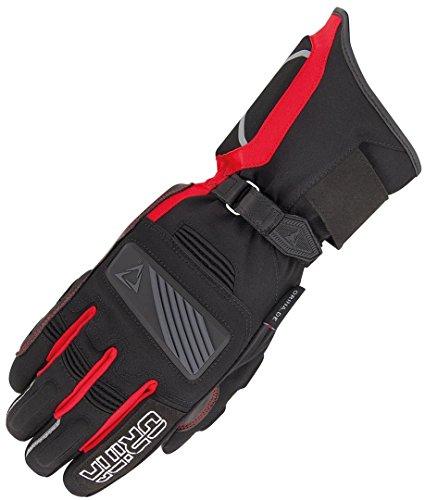 Orina Blizzard Wasserdichte Motorradhandschuhe 12 (3XL) Schwarz/Rot