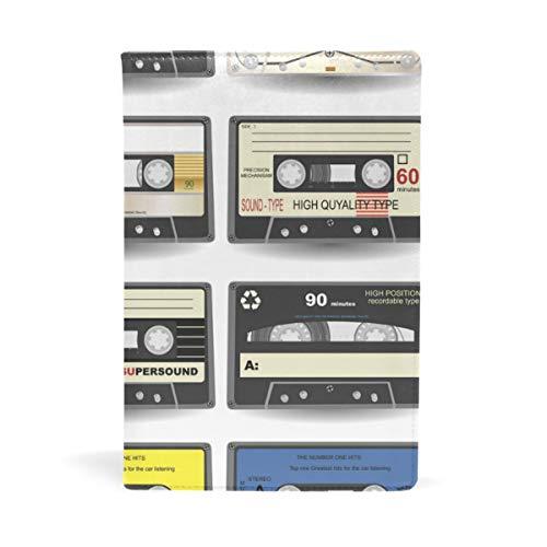 DEZIRO Cassette Book Covers se adapta a libros de texto de tapa dura de hasta 22 x 14,7 cm