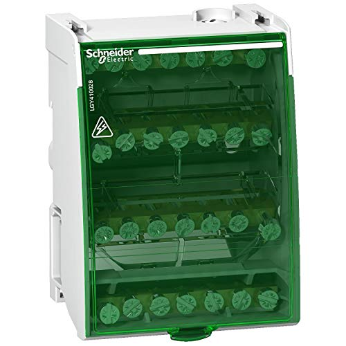 Schneider Electric LGY410028 Linergy Ds Repartidor Modular 4P, 100A, 28 Conexiones