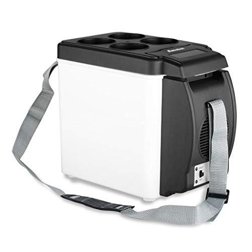 Cankun Mini-incubateur électrique de Voiture avec 12V électrique, Stockage de Lait Frais/Fruits / légumes/Repas de Viande/Pique-Nique/Camping, Gris, 1PCS