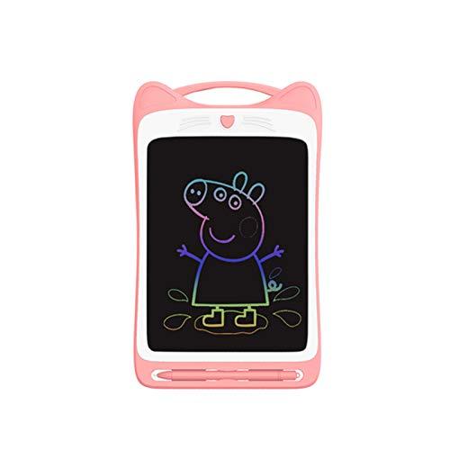 ETSXB Tableta de Escritura LCD, 8,5 Pulgadas, Tableta de gráficos electrónicos, Mini Escritura a Mano con Bloqueo de Memoria, Adecuada para la Oficina de la Escuela en casa para niños (Colorido)