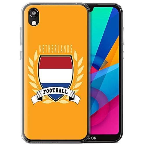 eSwish telefoonhoesje/Cover/Skin/HUA-GC/Voetbal Embleem Collectie Huawei Honor 8S/Y5 2019 Netherlands/Dutch