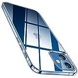 TORRAS Hülle Kompatibel mit iPhone 12 Pro und Kompatibel mit iPhone 12 Transparent