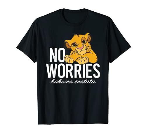 Disney Lion King Classic No Worries Simba T-Shirt