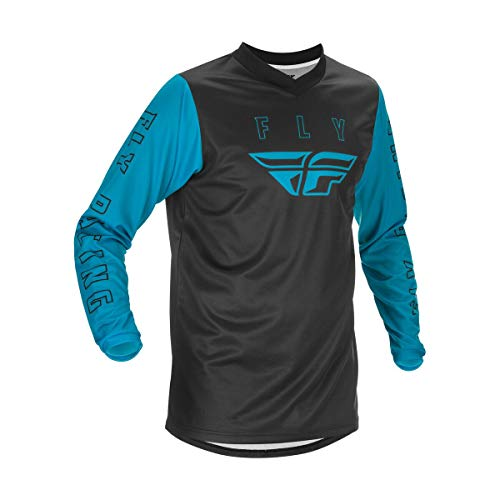 Fly Racing Youth F-16 Motorsports Jersey, Blue, Youth Medium
