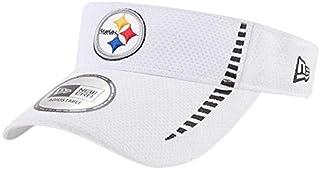 New Era New Era Pittsburgh Steelers White Speed Visor 帽子 バイザー 【並行輸入品】