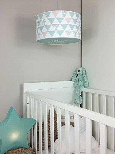 Plafondlamp/plafondlamp kinderkamer/babykamer/kinderlamp/babylamp (navy) mintgroen