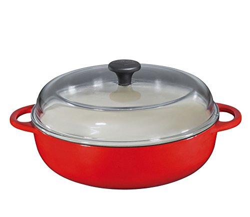 Küchenprofi Bauernpfanne, Gusseisen, Rot, 28 cm