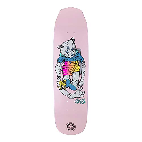 Welcome Skateboard Deck Nora Vasconcellos Teddy on Wicked Queen 8.6