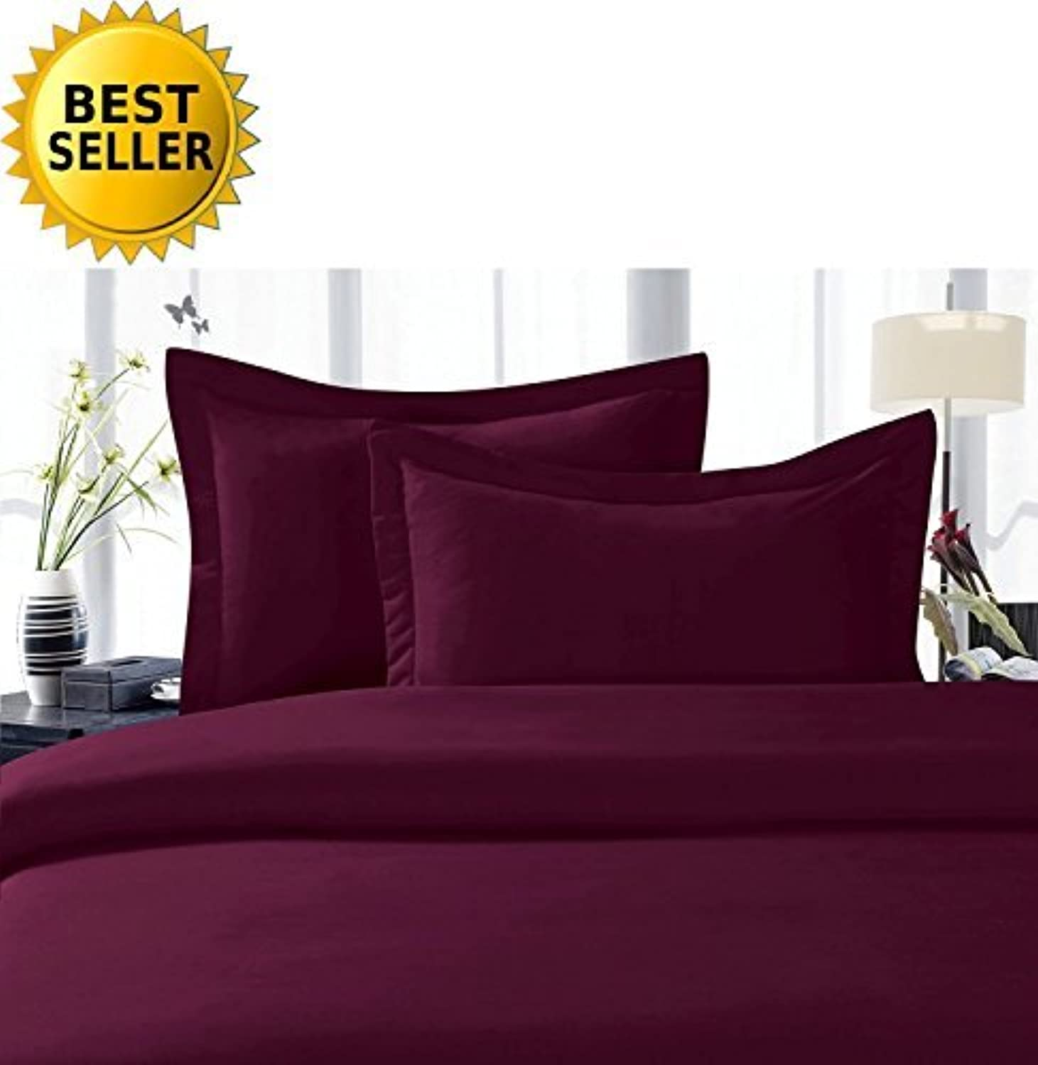 Elegant Comfort 1500 Thread Count Luxury Egyptian Quality Wrinkle and Fade Resistant 3-Piece Sheet Set, Twin Twin X-grand, violet by Elegant Comfort