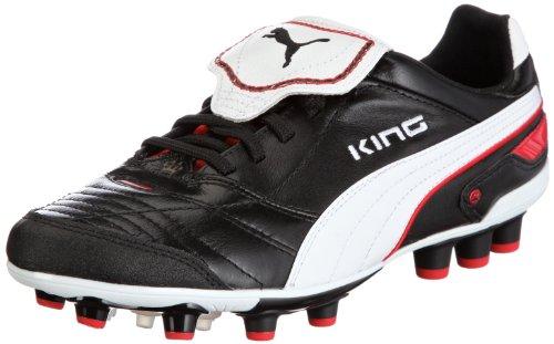 Puma King Finale Synth. Grass 101998, Herren Sportschuhe - Fußball, Schwarz (black-white-puma red 03), EU 40.5 (UK 7) (US 8)