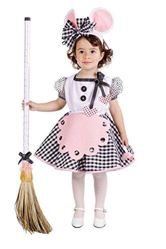 Disfraz de ratoncita para niña para fiesta temática o carnaval multicolor 5-7 Años