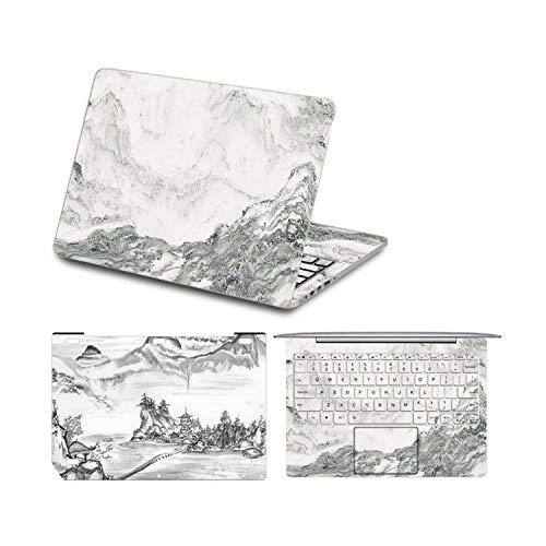 Adesivo per computer portatile per Xiaomi mi Air 12 13 stile cinese pittura vinile decalcomania pelle per Xiaomi Notebook mi Air 12.5 13.3 Laptop Skin-5-Per Xiaomi Air 12