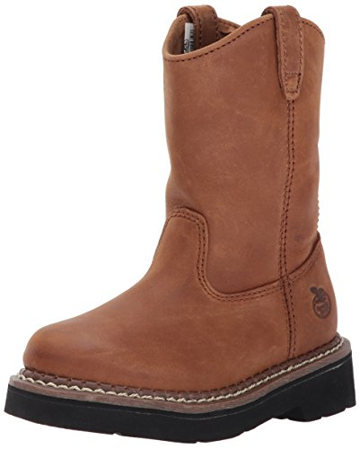 Georgia Boot Kids' GB202 Mid Calf Boot, Brown, 6 M US Big Kid