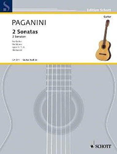 2 Sonaten. Gitarre