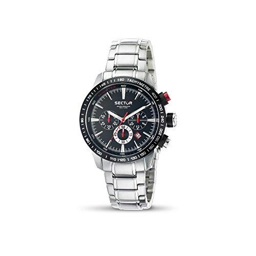 Relojes sector masculino de la correa de acero R3273975002 N