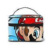 Anime Cartoons Super Mario Große Make-up-Tasche Reise Kosmetiktasche Make-up Tasche Organizer Make...