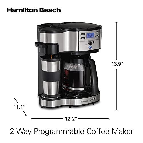 Hamilton Beach 49980A 2-Way Brewer Coffee Maker