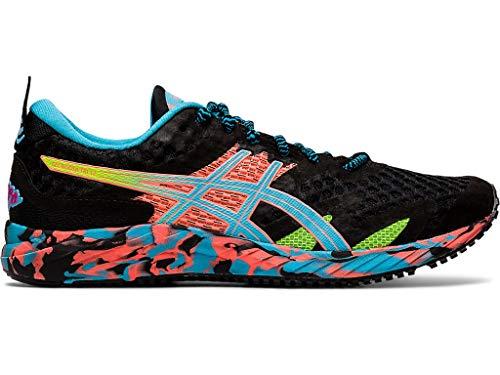 ASICS Women's Gel-Noosa Tri 12 Running Shoes, 8M, Black/Aquarium