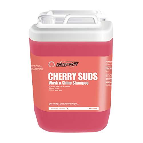 Nanoskin CHERRY SUDS Wash & Shine Shampoo [NA-CSS640], 5 Gallons