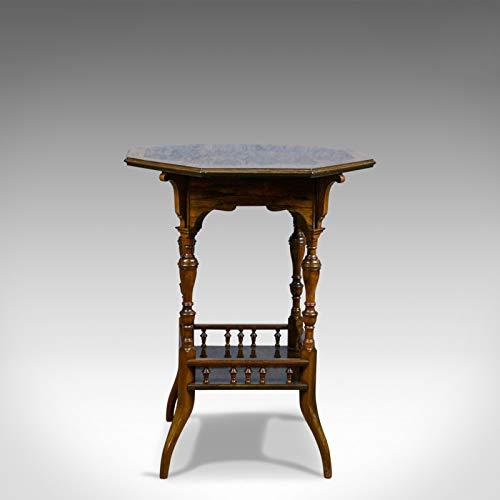 Beistelltisch, antiker Stil, englisch, viktorianisch, Palisander, gelegentlich, Circa 1890