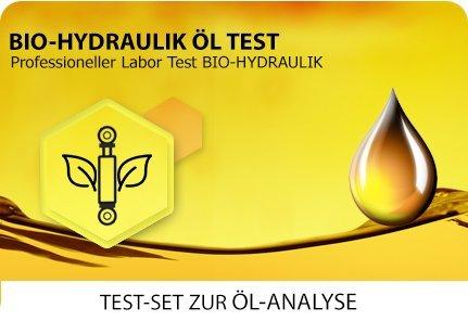 Öl Test für Bio-Hydraulik