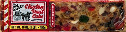 FRUIT CAKE Regular- 1 lb Regular Recipe Claxton Fruitcake