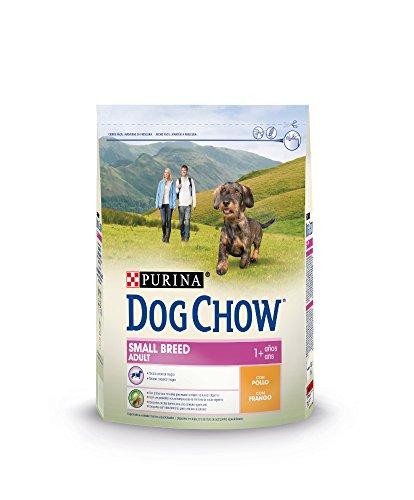 Purina Dog Chow Comida Seco para Perro Adulto Raza Pequeña con Pollo - 2.5 Kg