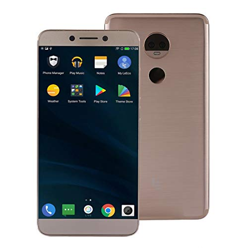 MEETBM ZIMO,LeEco Le Max 3 X850, 6GB+64GB, Dual Back Cameras, Fingerprint Identification, 5.7 inch Android 6.0.1 Qualcomm Snapdragon 821 Quad Core up to 2.342GHz, Network: 4G(Gold) (Color : Gold)
