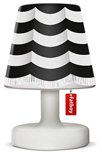 Fatboy® Edison the Petit + Cooper Cappie stripe curtain black   Tischlampe / Outdoor Lampe / Nachttischlampe   Kabellos & per USB Aufladbar