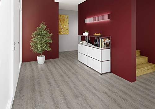 JOKA Classic Designböden330 2,0mm/NS 0.4mm Dryback 2840 Old Grey Oak 18,42x121,92 Paket 3,37 m² Vinylboden Klebevariante