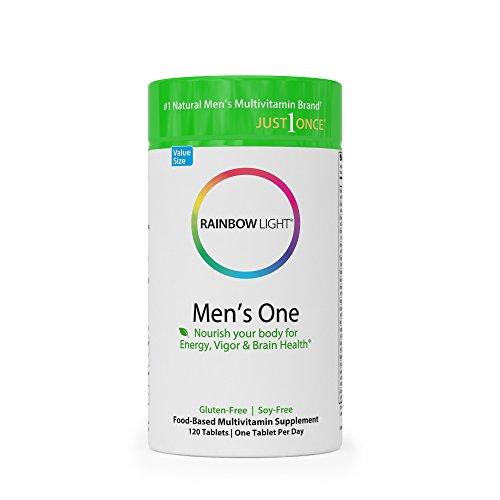 Rainbow Light Men's One Multivitamin - 120 Tab