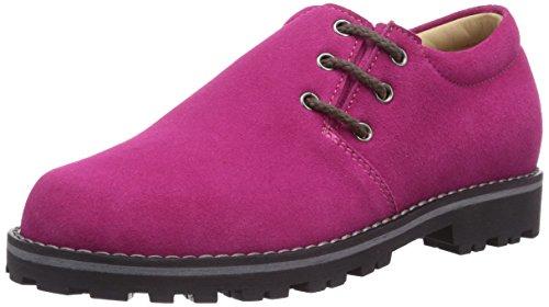Diavolezza PETER 211/B, Unisex-Kinder Trachtenschuhe mit Komfort Einlegesohle, Violett (Purple), 31 EU