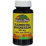 Nature's Blend Elemental Magnesium Amino Acid...