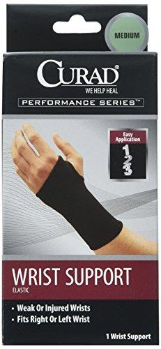 Curad Elastic Wrist Support, Medium