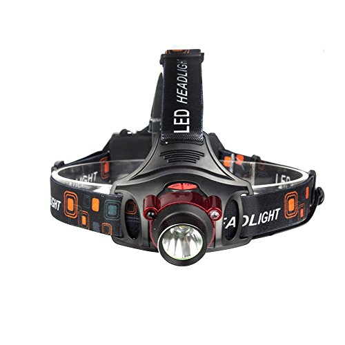 Vory 1000lm Led Linternas frontales XML-T6 3 modos Sensor infrarrojo 10W lámpara...