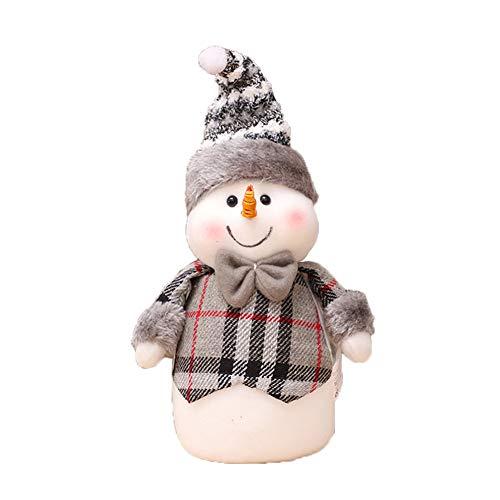 Skyeye Adornos Navideños Adornos Lindos Figuras de Muñeco de Nieve Artículos de Navidad Regalo