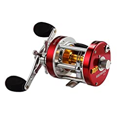 BULLET PROOF - The hot Rover reel just became hotter. The KastKing Rover round baitcasting reel has been reinforced with thicker hard anodized aluminum side plates, CNC machined spool, precision cut brass gears, all alloy flawless level wind, industr...