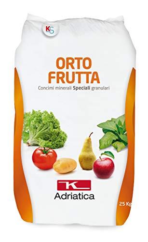 VIALCA ORTO Frutta CONCIME Speciale GRANULARE per ORTO Sacco kg.25 K-ADRIATICA