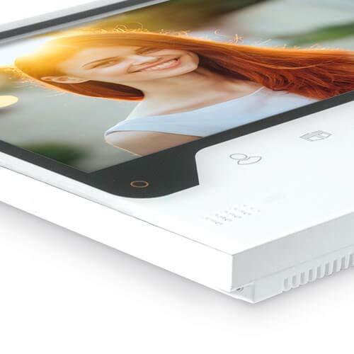 Extel – Visiophone Connect – avec Grand Écran (18cm) et Connecté à votre Smartphone Android...