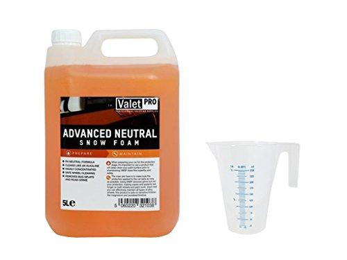 ValetPRO Advanced neutre Snow Foam 5 l + verre doseur 250 ml