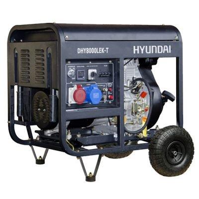 Hyundai dhy8000lek-3Generator Diesel Rental.