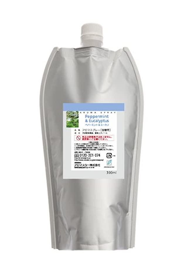 カウボーイペフモノグラフAROMASTAR(アロマスター) アロマスプレー ペパーミント&ユーカリ 300ml詰替用(エコパック)