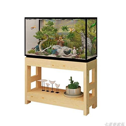 XYZX Plank Aquarium Stand Bloem Stand Hout Multi-layer Huishoudelijke Boom Opslag Rack
