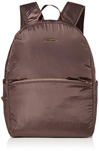 Pacsafe Women's Stylesafe 12L Anti Theft Backpack, Mocha